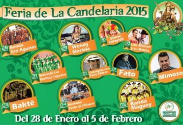 Feria de la Candelaria Cintalapa 2015 1