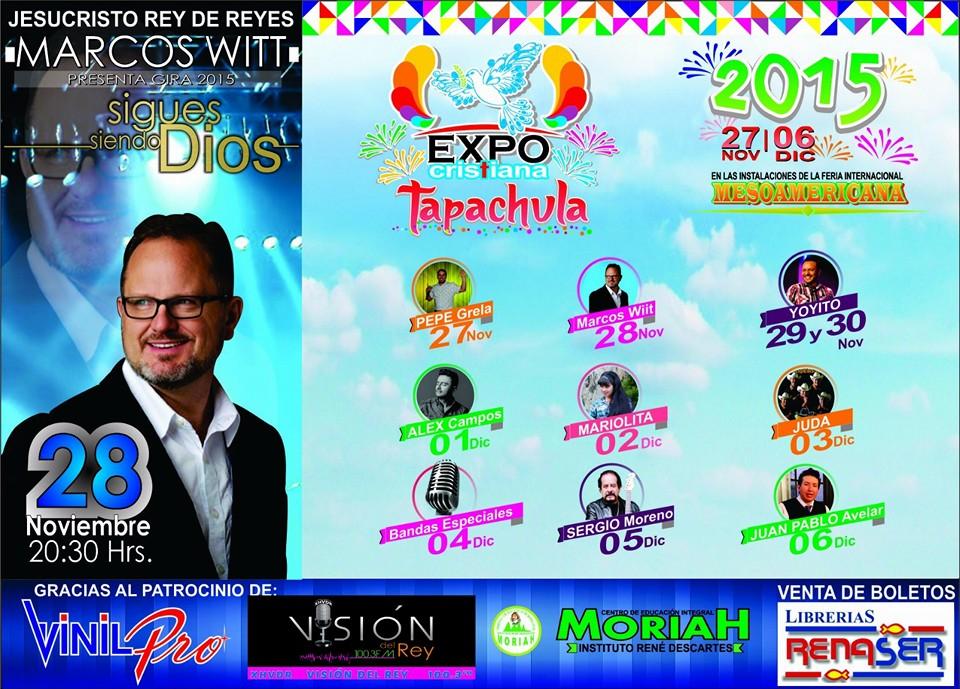 Revista Chiapas | Marcos Witt se presentará en la Expo Cristiana ...