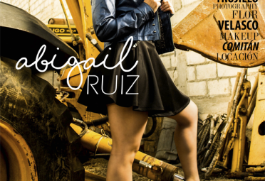 Abigail Ruiz en Portada Enero 2016 15