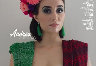Andrea Guerro en Portada Septiembre 2018 9
